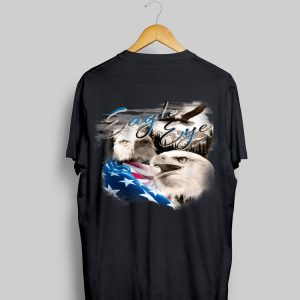 American Eagle Eye Flag 4Th Of July Distress Usa shirt