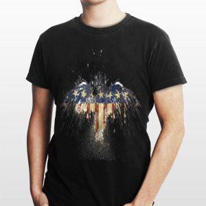 American Flag Eagle Custom Print shirt