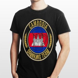 Beer Cambodia Drinking Team Casual shirt