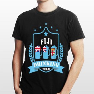 Beer Fiji Drinking Team Casual Fiji Flag shirt
