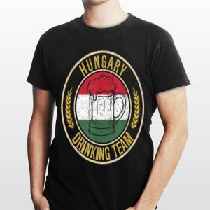Beer Hungary Drinking Team shirt