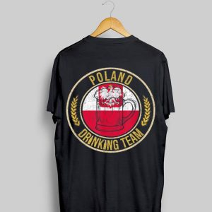 Beer Poland Drinking Team Casual shirt