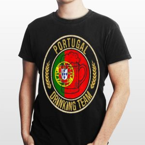 Beer Portugal Drinking Team Casual shirt