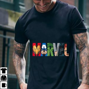 Best price Marvel Logo Avengers Super Heroes shirt