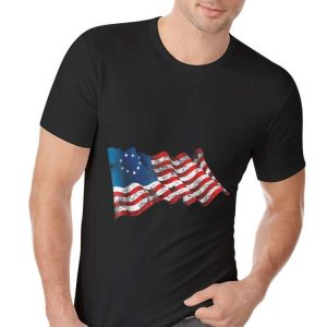Betsy Ross Flag 13 Star Revolution 4th Of July Independence Day hoodie