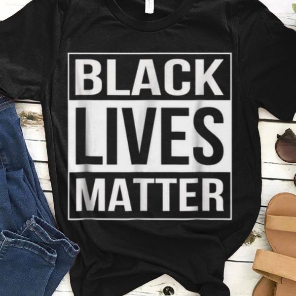 Black Lives Matter Political Protest guy tee
