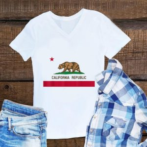California Republic Flag Patiotic State Travel Usa hoodie