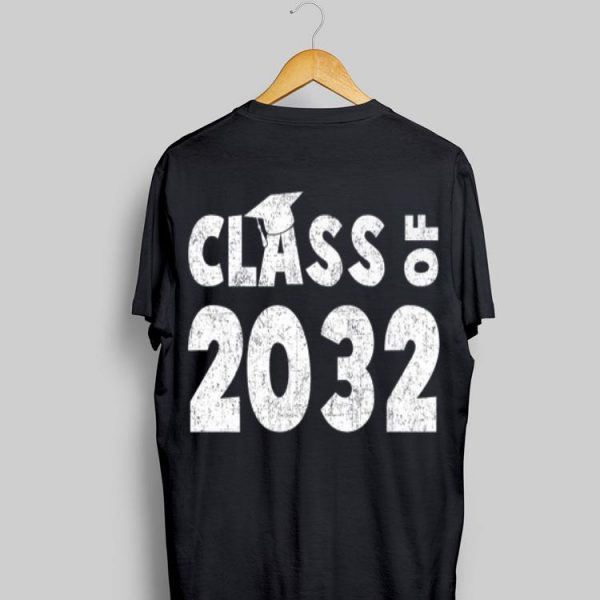 Class of 2032 First Day of School Grow With Me shirt