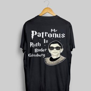 Harry Potter Style My Patronus Is Rbg Womens Rights Feminism shirt