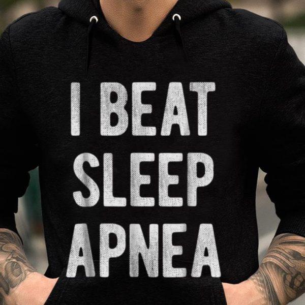 I Beat Sleep Apnea guy tee