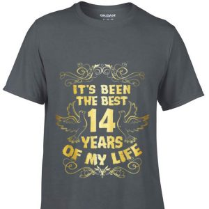 It's Been The Best 14 Years Of My Life hoodie
