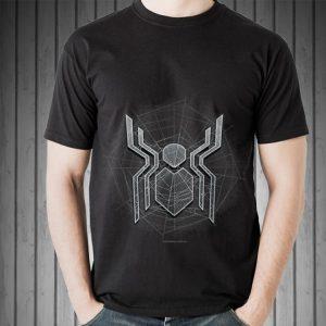 Marvel Spider-Man Far From Home Logo Spider Cobweb sweater
