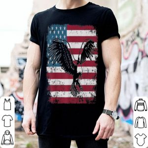 Mens Eagle American Flag 4Th Of July shirt