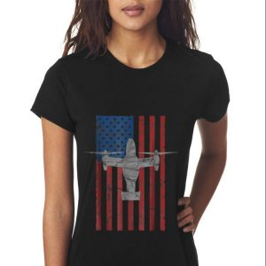 Mv 22 Osprey Aircraft American Flag For 4th Of July Sweater 2