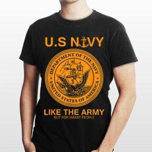 Navy United States Navy Army Parody shirt