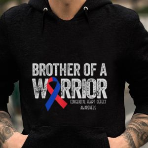 Premium Brother Of A Warrior Congenital Heart Deffct Awareness shirt