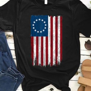 Premium First American Betsy Ross Flag 4th Of July For Usa Independence shirt