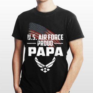 Proud Papa Us Air Force Usaf shirt