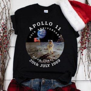 The Best Astronaut Apollo 11 50th Anniversary Moon Landing American Flag 20th July 1969 shirt