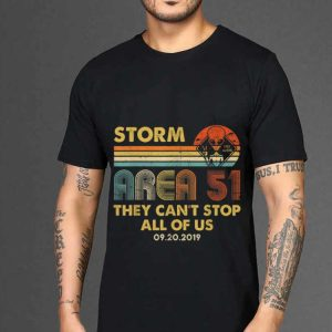 The best trend Storm Area 51 Free Aliens they Can't Stop All Of Us Vintage shirt