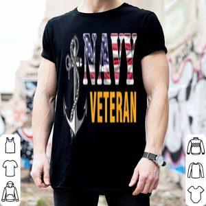 Us Navy Veteran American Flag Cool shirt