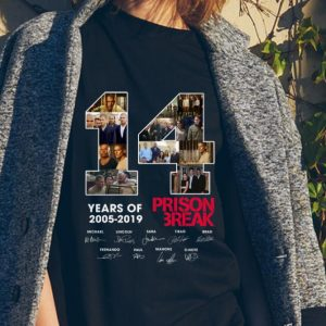 14 Years Of Prison Break 2005 2019 signature sweater