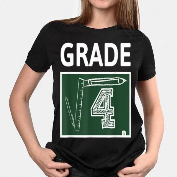 2nd Grade Math Square Root Of 4 Back To School shirt