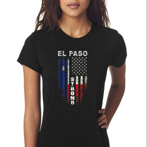 Awesome American Flag El Paso Strong shirt