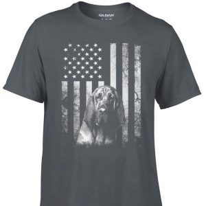 Awesome Bloodhound America Flag shirt
