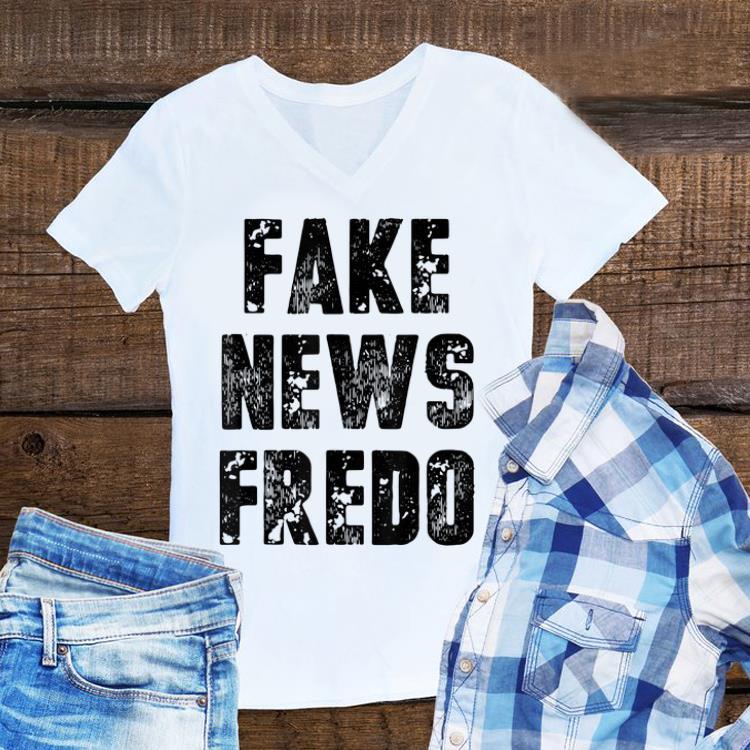 Awesome Fake News Fredo shirt 1 - Awesome Fake News Fredo shirt