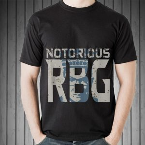 Awesome Notorious RBG Silhouette shirt