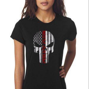 Awesome Philipp Plein Skull Rhinestones American shirt 2
