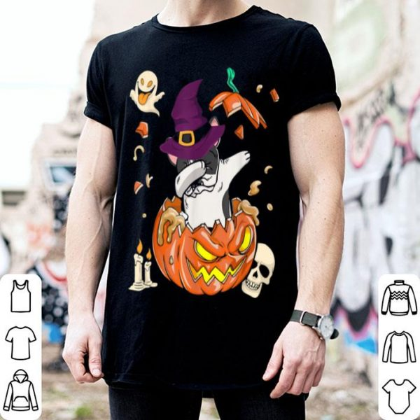 Beautiful French Bulldog Dog Pumpkin Halloween Halloween Gifts shirt