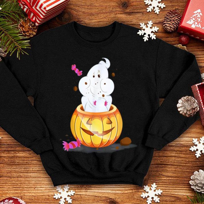 Beautiful Funny Halloween Ghost, Pumpkin Trick Or Treat