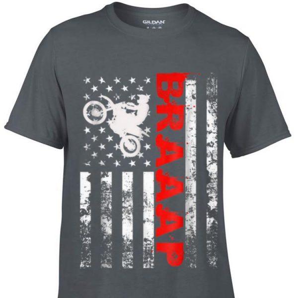 Biker Braaap American Flag sweater