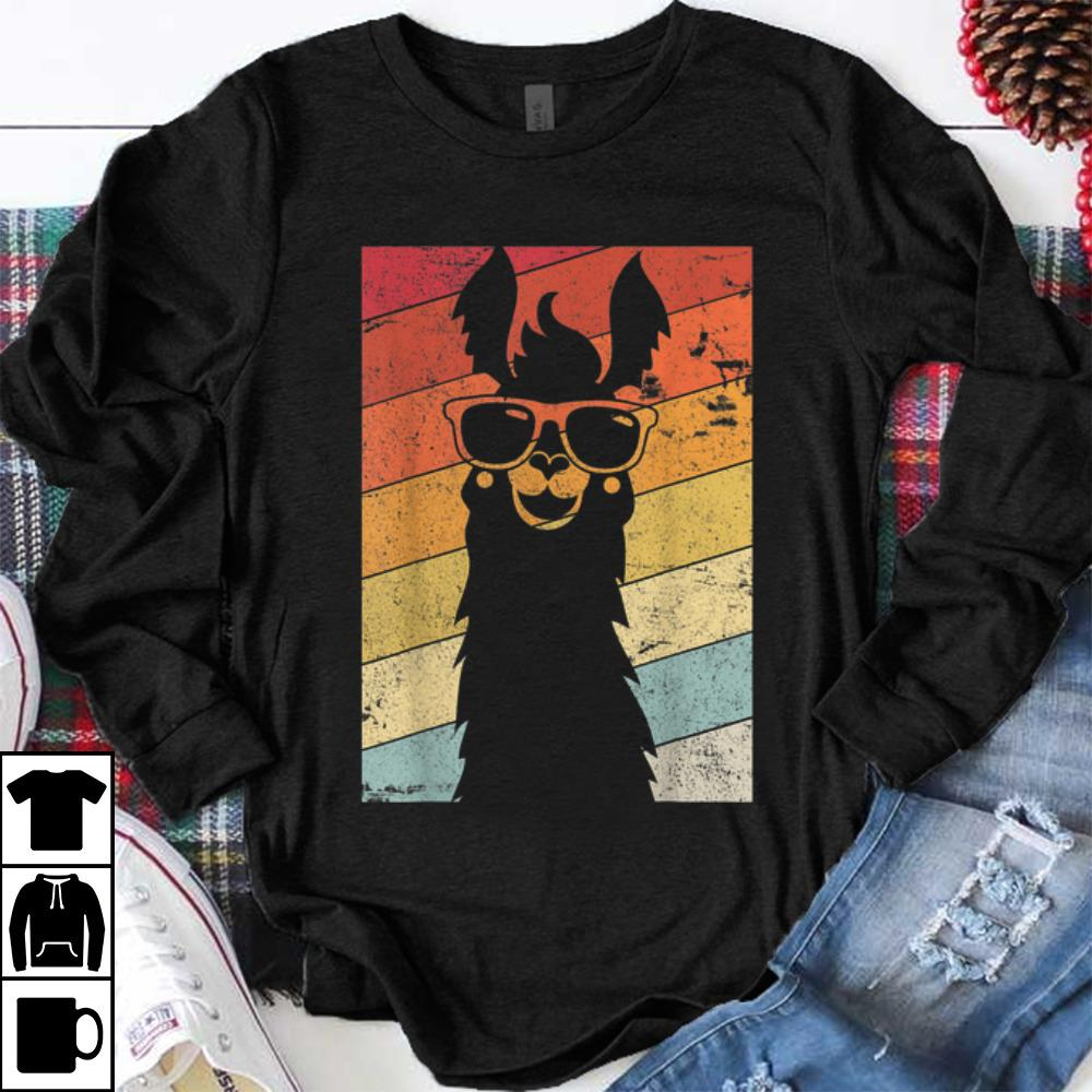Funny Llama Alpaca Vintage shirt 1 - Funny Llama Alpaca Vintage shirt