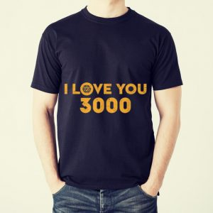 Funny Marvel Avengers Endgame Iron Man I Love You 3000 shirt