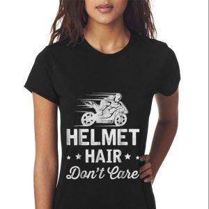 Helmet Hair Don't Care Motorcycle Moped Bike sweater 2