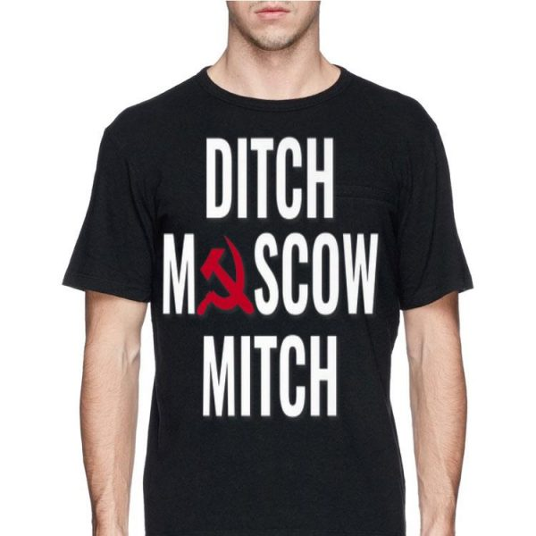 Mens Ditch Moscow Mitch Russia Sickle shirt