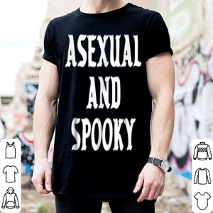Official Asexual And Spooky Lgbtqia Ace Pride Halloween shirt