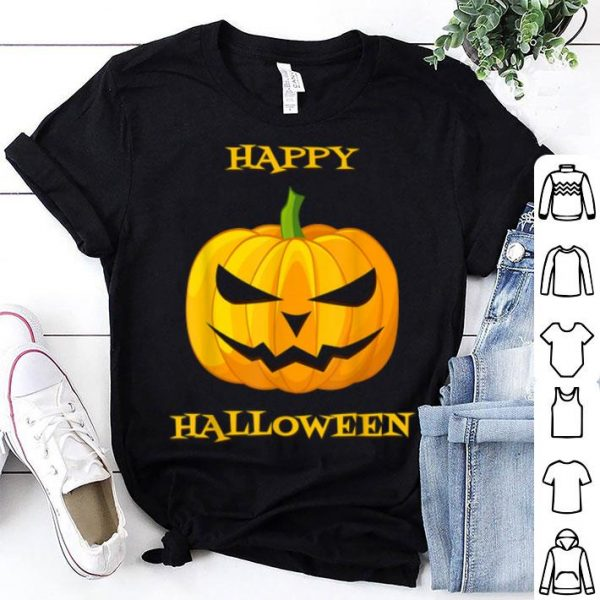 Official Happy Halloween Scary Pumpkin shirt