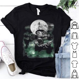 Original Disney The Nightmare Before Christmas Haunted Scene shirt