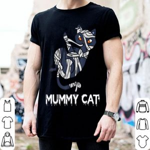 Premium Mummy Cat Funny Halloween Costume For Cat Lover shirt
