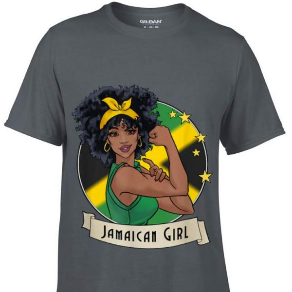 Strong Girl Jamaican Flag sweater