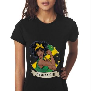 Strong Girl Jamaican Flag sweater 2