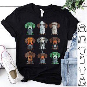Top Dachshund Halloween Funny Weiner Gift shirt