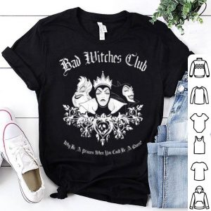 Top Disney Villains Bad Witches Club Group Shot Graphic shirt