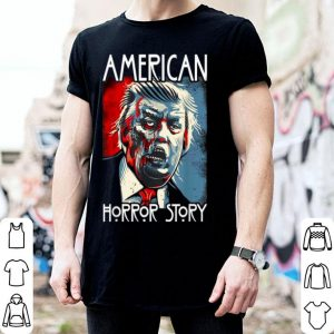 Awesome Funny Halloween Anti Trump Horror Story Americas Hated Dude shirt