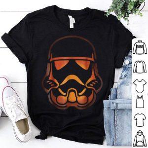 Beautiful Star Wars Stormtrooper Pumpkin Carving Halloween shirt
