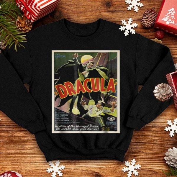 Dracula Monster Vintage Movie Poster Halloween shirt